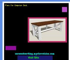 computer desk plans plywood 232127 woodworking plans and