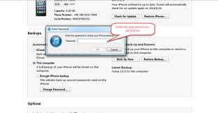 How to Turn off Backup Encryption in iTunes