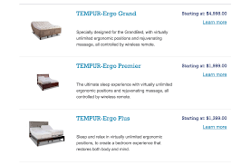top complaints and reviews about tempur collection tempurpedic