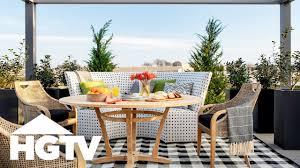 100 House Patio HGTV Smart Home 2019 Tour The Backyard