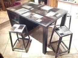 table de cuisine haute avec tabouret table haute avec tabouret pour cuisine foodan