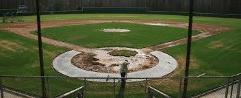 custom home plate halo installation on deck sports