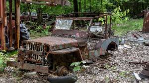 Junkyard Rescue - Willys MB WWII Jeep - YouTube