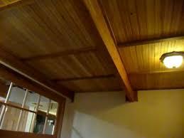 Beadboard Basement Ceiling Drop Ceiling Lordofthewebinfo