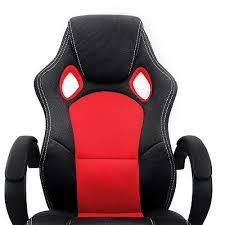 siege baquet de bureau chaise de bureau sport fauteuil siege baquet et noir