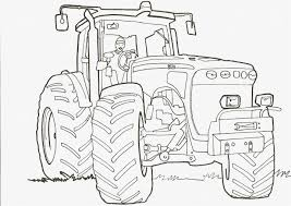 Dessin A Colorier De Tracteur Claasl Meublerc Coloriage Tracteur