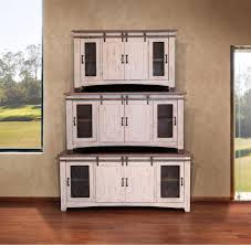 Sliding Barn Door TV Stand/Buffet/Server - Attic Angel Furniture ... White Barn Door Track Ideal Ideas All Design Best 25 Sliding Barn Doors Ideas On Pinterest 20 Diy Tutorials Jeff Lewis 36 In X 84 Gray Geese Craftsman Privacy 3lite Ana Door Closet Projects Sliding Barn Door With Glass Inlay By Vintage The Strength Of Hdware Dogberry Collections Zoltus Space Saving And Creative
