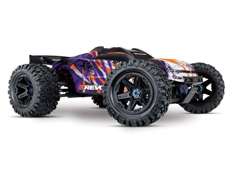 Traxxas E-Revo VXL 4x4 Monster Truck - Purple