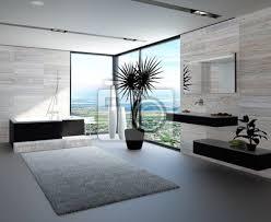 fototapete hochmoderne badezimmer mit luxuriösen möbeln und marmor wand