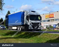 100 Iveco Truck On Road Kongsvinger Norway Stock Photo Edit Now