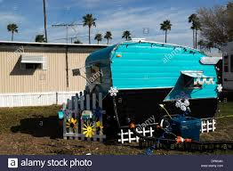 100 Restored Travel Trailer Antique Travel Trailer Parked In A South Texas RV