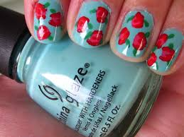 100 Nail Art 2011 Http Ynurse Blogspot Com 05 Easy Rose Html Summer