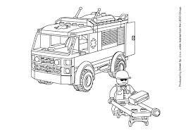 Coloriage Ambulance Coloriage Ambulance Pompier Unique Dessins