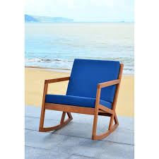 100 Navy Blue Rocking Chair Shop Safavieh Outdoor Living Vernon Brown On