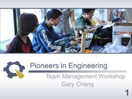 100 Gary Chang Pioneers In Engineering Team Management Workshop Ppt Download