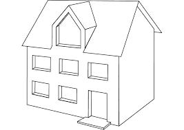maison 71 bâtiments et architecture coloriages à imprimer