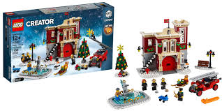 LEGO Debuts New 1,166-piece Winter Village Fire Station To Get You ...