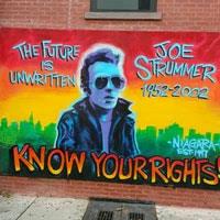 joe strummer mural street art in alphabet city