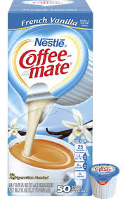 Nestle Coffee Mate French Vanilla Regular Single Serving Liquid Creamer 038 Oz Pack