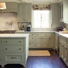 Green Gray Cabinets View Full Size Modern French Country Kitchen