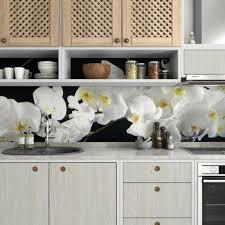 küchenrückwand selbstklebend blume fliesenspiegel folie alle