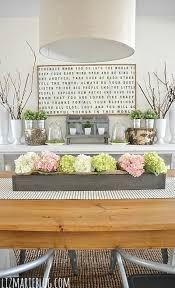Lovely Spring Dining Room