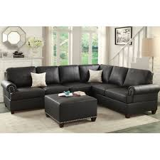 Poundex Reversible Sectional Sofa by Poundex Bobkona Cady Reversible Sectional F7769