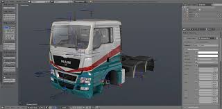 SCS Software's Blog: SCS Blender Tools - Full Truck Creation Pipeline!