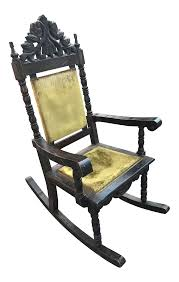 Antique Ornate Carved Wood Velvet Rocking Chair | Chairish Invention Of First Folding Rocking Chair In U S Vintage With Damaged Finish Gets A New Look Winsor Bangkokfoodietourcom Antiques Latest News Breaking Stories And Comment The Ipdent Shabby Chic Blue Painted Vinteriorco Press Back With Stained Seat Pressed Oak Chairs Wood Sewing Rocking Chair Miniature Wooden Etsy Childs Makeover Farmhouse Style Prodigal Pieces Sam Maloof Rocker Fewoodworking Lot314 An Early 19th Century Coinental Rosewood And Kingwood Advertising Art Tagged Fniture Page 2 Period Paper