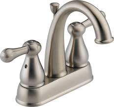 Delta Faucet Dripping Bathroom by Delta 2575lf Ss Leland Two Handle Centerset Bathroom Faucet
