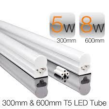 t5 led light 300mm 5w 600mm 8w 1ft 2ft aluminum led