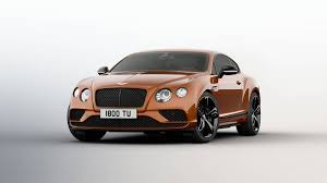 2017 Bentley Continental GT Speed s more power and new trim