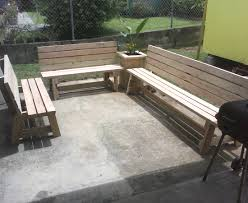simple garden bench seat made by hector