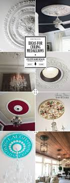 100 small two piece ceiling medallions starburst ceiling