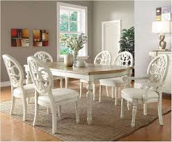 Magnificent Dining Room Sets White Perfect With Photo Of Model Fresh Antique Look Furniture