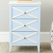 Chereen 3 Drawer End Table & Reviews