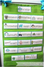 Winter Activities Miss KindergartenWinter Literacy KindergartenWord Wall