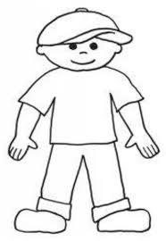 Flat Stanley Coloring Page Home Sheets