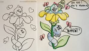 AD Corrupted Coloring Books That Will Ruin Your