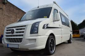 2010 VW Crafter Race Van Camper