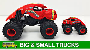 Learning Big & Small Monster Trucks For Kids - #1 Hot Wheels Monster ... Bigfoot Truck Wikipedia Awesome Monster Truck Experience Trucks Off Road Driving Ars For Kids Hot Wheels Big Off Road Shark Wreak Dan We Are The Big Song Kahuna Jam Wiki Fandom Powered By Wikia Worlds First Million Dollar Luxury Goes Up Sale Rippers Light And Sound Foot Outdoor Vehicle 7 Advertised On The Web As Foo Flickr Trucks Show Editorial Photo Image Of People 1110001 Event Horse Names Part 4 Edition Eventing Nation Burgerkingza Brought Out A To Stun Guests At East