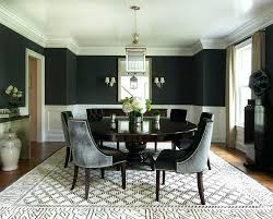 Dining Room Paints View In Gallery Contemporary With Splashes Of Black Design Interior