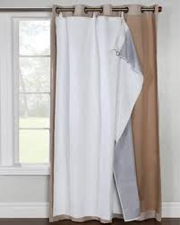 thermalogic rod pocket curtain liner ultimate liner for grommet top panels commonwealth home fashions