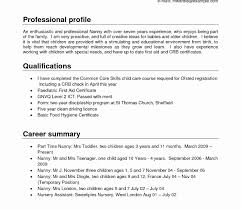 Nanny And Housekeeper Resume Sample New Resumes Resumeemplate Featuring Child Care