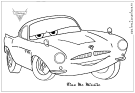 Cars 2 Coloring Pages Print