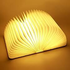 ParaCity Wooden Folding LED Nightlight Book Led Light & LED