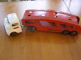 Vintage Structo Toy Truck Car Hauler Vintage 1950s Structo Cattle Farms Inc Toy Truck And Trailer 1950s Structo Toys Steel Army Truck Vintage Metal Toy Wrecker Truck Parts Toys Buddy L Tow 1940s Pinterest Very Early Vintage Pressed Dump 4900 Childrens Books Flash Cards Colctible Steel Diecast Cadillac No 7375 Hp Elrado Brougham Concept Lloyd Ralston Nice Yellow Truckgreen Trailer Yellow Steam Shovel Barrel Windup Red Blue C