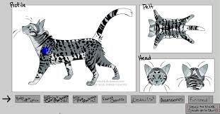 cat creator warrior cats oc silverwind by ravenstar15 on deviantart