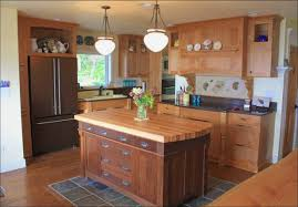 Butcher Block Countertops For Simple Shape Ash Wood Countertop
