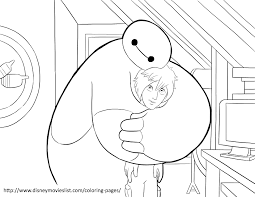 Disneys Big Hero 6 Coloring Pages Sheet Free Disney Printable In Channel